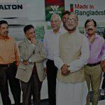 ওয়ালটন : ওয়ালটন কারখানা পরিদর্শন করেন পরিবেশ, বন ও জলবায়ু পরিবর্তন মন্ত্রী শাহাব উদ্দিনসহ অন্যরা