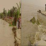পদ্মার প্রবল স্রোতে নদীগর্ভে বিলীন ফেরিঘাটসহ শতশত বসতবাড়ি, দুর্ভোগে জনগণ