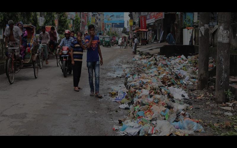 রংপুরে খোলা স্থানে ফেলা হচ্ছে ময়লা আবর্জনা, স্বাস্থ্য ঝুঁকিতে রংপুরবাসী