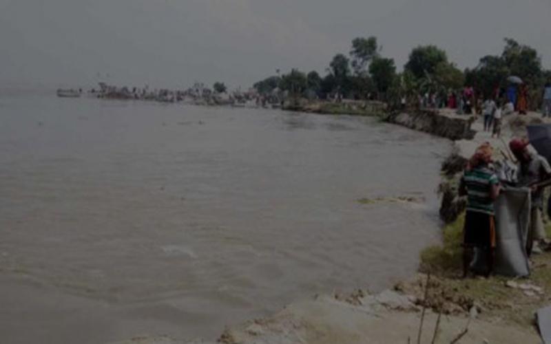পদ্মার ভাঙনে নদীতে বিলীন দৌলতদিয়ার ৩টি ফেরি ঘাট, পরিবেশ বিপন্ন