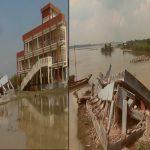 পদ্মার ভাঙনে শিবচরে নদীগর্ভে স্কুল-ব্রিজসহ বহু স্থাপনা