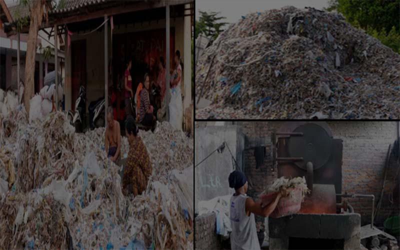 পশ্চিমা দেশের প্লাস্টিক বর্জ্য বিষাক্ত করছে ইন্দোনেশিয়ার 'খাদ্যচক্র'