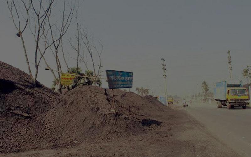 কয়লার বিষে বিষাক্ত হয়ে উঠেছে নওয়াপাড়ার পরিবেশ, জনজীবন বিপর্যস্ত
