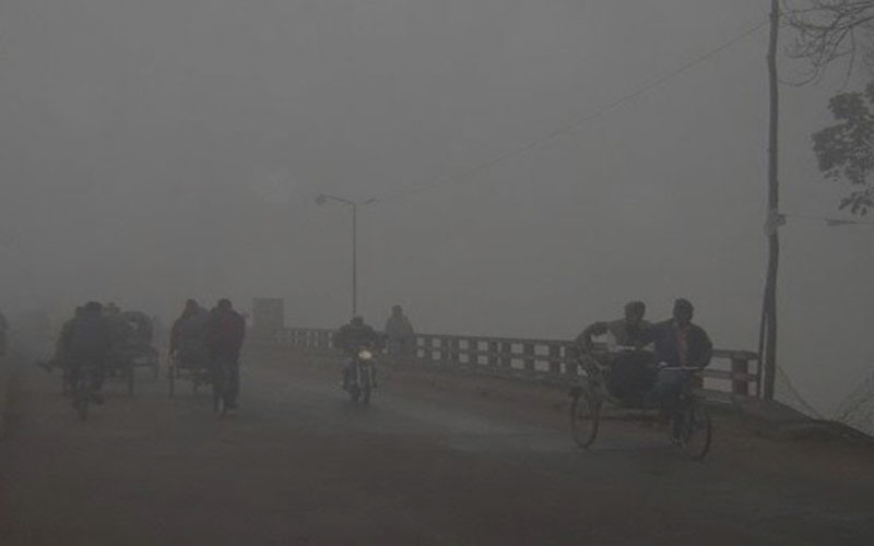 তেঁতুলিয়ায় দেশের সর্বনিম্ন তাপমাত্রা ৪.৫ ডিগ্রি সেলসিয়াস