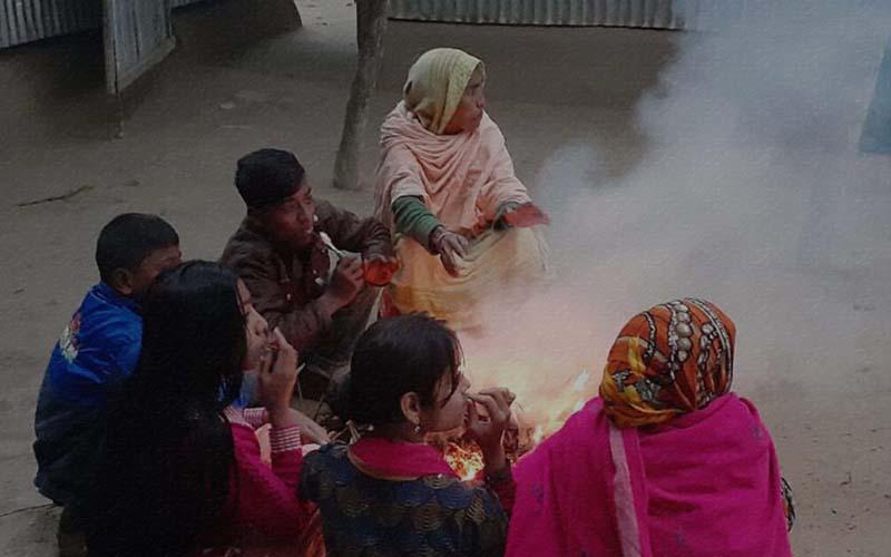 কুড়িগ্রামে সর্বনিম্ন তাপমাত্রা রেকর্ড , বইছে শৈত্যপ্রবাহ