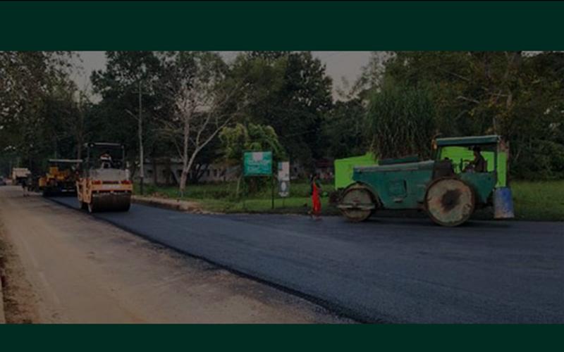 ভারতীয় সেনাবাহিনীর অভিনব উদ্যোগ, ১.২৪ মেট্রিক টন প্লাস্টিক বর্জ্য দিয়ে রাস্তা নির্মাণ