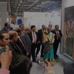 জলবায়ু সম্মেলনে বাংলাদেশের প্যাভিলিয়ন পরিদর্শন করেছেন প্রধানমন্ত্রী শেখ হাসিনা