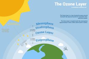 ওজন গর্ত (Ozone hole) অবলোকন এবং ধংসের থেকে বেঁচে গেছে পৃথিবী