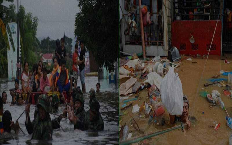 ইন্দোনেশিয়ায় ভারি বৃষ্টিপাতে বন্যা ও ভূমিধস, ৪৩ জন নিহত