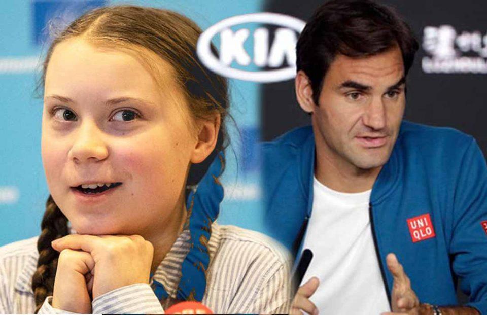 Greta-Thunberg-criticises-Roger-Federer