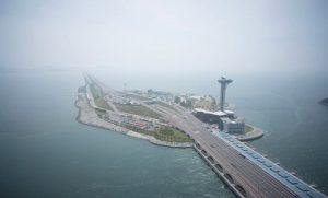 চীনের জিয়াংগিয়া পাইলট জোয়ার ভাটার বিদ্যুৎ কেন্দ্র (Image Curtesy: International Hydropower Association)