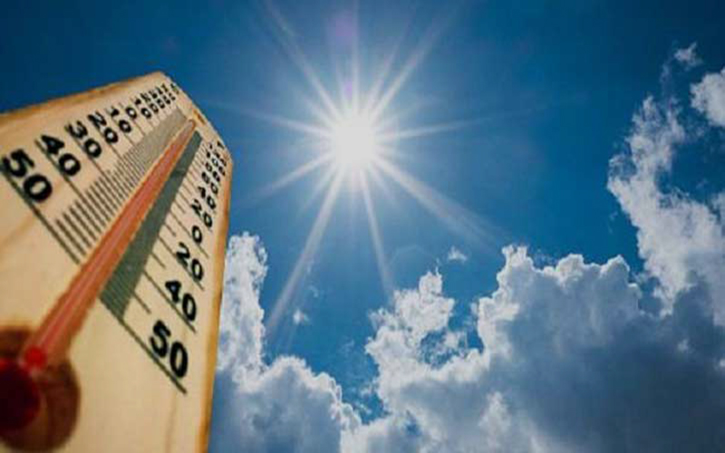 চলমান মৌসুমে ৩৯.২ ডিগ্রি তাপমাত্রা রেকর্ড
