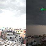 গরমের পরে বৃষ্টিতে ভিজলো রাজধানী ঢাকা
