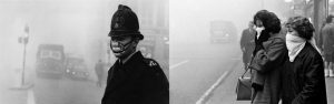 The smog in London in 1952 killed 4,000 people in just four days.