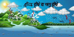 এসিড বৃষ্টি বাঅম্ল বৃষ্টি (ACID RAIN)