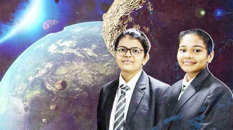 ভারতের দু'জন স্কুলছাত্রী পৃথিবীর চারদিকে ঘুরে এমন একটি গ্রহানু আবিস্কার করেছে