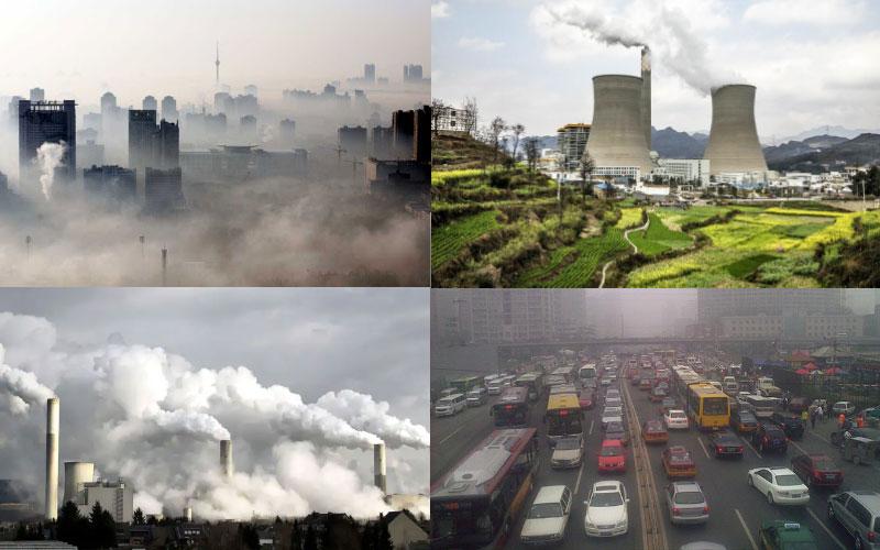 গ্রিনহাউস গ্যাস (Green House Gass) নিঃসরণে চীন সকল দেশগুলোকে ছাপিয়ে প্রথমে